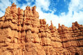 Tall Sandstone Spires Royalty Free Stock Photography