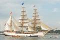Tall ship Europa - Sail Amsterdam 2015 Royalty Free Stock Photo