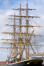 Tall ship Geoarg Stage  in Copenhagen Royalty Free Stock Images