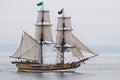 Tall Ship lady Washington Royalty Free Stock Photo