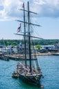 Tall Ship Martha's Vineyard Royalty Free Stock Photo
