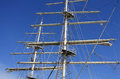 The tall ship mast Royalty Free Stock Photo