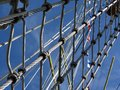 Tall Ship Rigging Rope Royalty Free Stock Photo