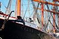 Tall ship Sedov Stock Images