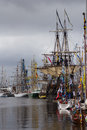 Tall ships race picture from the in aarhus denmark formerly known as the cutty sark Stock Images