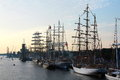 The tall ships races after ten years magnificent event returns to riga for four days you will have a chance to see more than a Stock Image