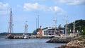 Tall Ships in Sydney, Nova Scotia