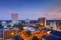 Tallahassee skyline florida usa downtown Stock Photo