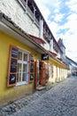 Tallin estonia tallinn june a quiet street in the historic center of tallinn Royalty Free Stock Images