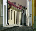 Tallinn back streets a quiet corner of s upper town Royalty Free Stock Images
