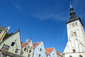 Tallinn church of st nicholas in vyshgorod of old estonia Royalty Free Stock Photography