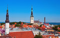 Tallinn city Royalty Free Stock Images