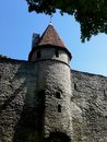 Tallinn city wall is the defensive constructed around the of in estonia it is one of the reasons that s Royalty Free Stock Photo