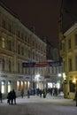 Tallinn, Estonia in evening