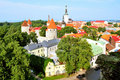Tallinn, Estonia. Old town Stock Images
