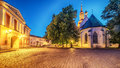 Tallinn, Estonia: St Mary`s Cathedral Royalty Free Stock Photo