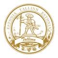 Tallinn, Estonia stamp