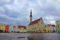 Tallinn. Estonia. Town Hall Square Royalty Free Stock Photo
