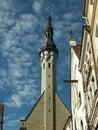 Tallinn medieval town hall Royalty Free Stock Photo