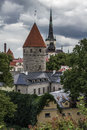 Tallinn Old Town Stock Images