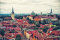 Tallinn old town estonia europe Royalty Free Stock Images