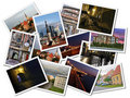 Tallinn photo collage Stock Photo