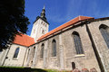 Tallinn san nichola s church niguliste museum in estonia Stock Image