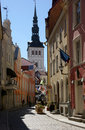 Tallinn streets Stock Photography