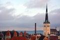 Tallinn from the top evening Stock Photos