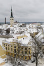 Tallinn, winter  Royalty Free Stock Photo