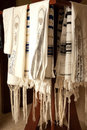 Tallit rack 1 Royalty Free Stock Photos