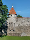 Tallitorn tower the th century is a the southwest section of the city walls near to the maiden s and the danish king s Stock Images