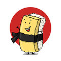 Tamago Cartoon Character Royalty Free Stock Image