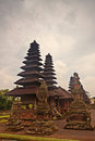 Taman ayun temple bali ancient indonesia Stock Image