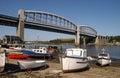 Tamar Bridge Royalty Free Stock Photo