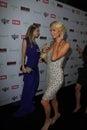 Tamara Braun, Paris Hilton Stock Photo
