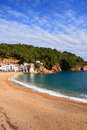Tamariu beach (Costa Brava, Spain) Stock Image