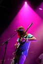 Tame impala band performs at fib festival benicassim spain july on july in benicassim spain Stock Photo