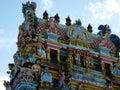 Tamil surya oudaya sangam temple grand baie mauritius Royalty Free Stock Photo
