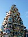 Tamil surya oudaya sangam temple grand baie mauritius Royalty Free Stock Photos