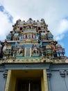 Tamil surya oudaya sangam temple grand baie mauritius Royalty Free Stock Image
