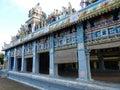 Tamil surya oudaya sangam temple grand baie mauritius Stock Image