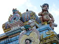 Tamil surya oudaya sangam temple grand baie mauritius Stock Photography