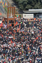 Tamil Tiger protest in Geneva Royalty Free Stock Image