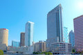 Tampa, Florida skyline Royalty Free Stock Images