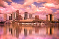 Tampa Florida Skyline Royalty Free Stock Photo