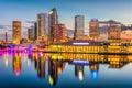 Tampa, Florida, USA Skyline Royalty Free Stock Photo