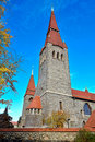 The Tampere cathedral Royalty Free Stock Images