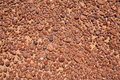 Tan and Brown Coloured Pebble Stones Background Royalty Free Stock Photo