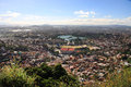 Tana from above a view of antananarivo the capitol of madagascar Stock Photos